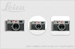 LEICA CAMERA ICONS for Mac OS v.1.00 [FOLDERS] by EZBOI
