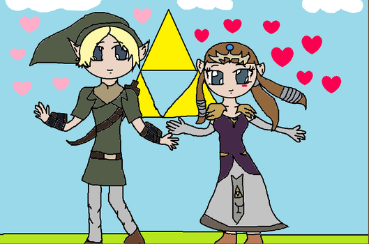 Link and Zelda-ADSD by nursal1060