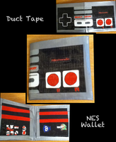 NES Duct Tape Wallet by thejenty