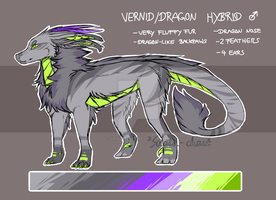 Vernid/Dragon Hybrid Adopt (Closed) by SolalaAdopts