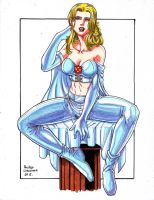 Emma Frost by rustywork
