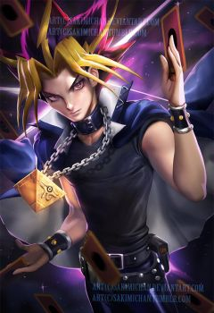 Yami yugi .nsfw optional. by sakimichan