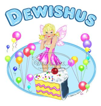 Birthday Cake Fairy by Dewishus