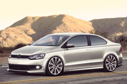 Volkswagen Polo Coupe by Quattr0
