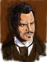 Deadwood Seth Bullock clr by StevenWilcox
