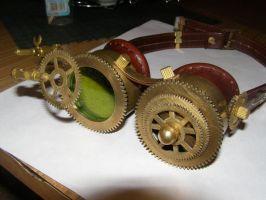 Steampunk goggles by Slavantura