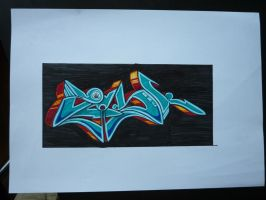 ZESK Shadowboxing better look by Graffitiminded