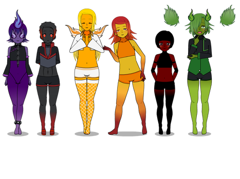 Male Fire Elements Base by mylittlesailorsonic8
