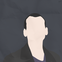 The 9th Doctor (Simplistic) by Geoffery10