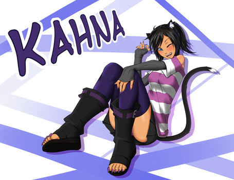 Incoming OC!- Kahna by RocatArt