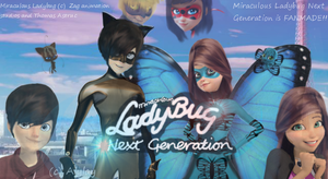 Cover Miraculous Ladybug next Generation by Alylay
