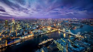 London From The Shard by Devlin2011