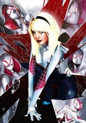 Spider Gwen by Mark42m