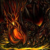 Abyssal Worm by firael666