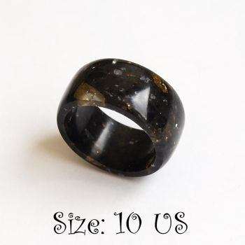 Black ring . Size 10 US by BDSart
