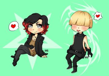 Ruki and GDragon by iHanaShira
