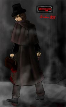 Jack the Ripper by lupibo