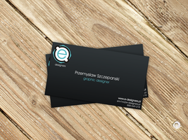 Own Business Card by env1ro