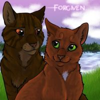 Brambleclaw And Squirrelflight: Forgiven by timekept