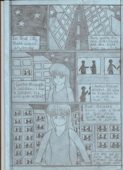Town With No People MANGA (Page 1) by MikaDiva