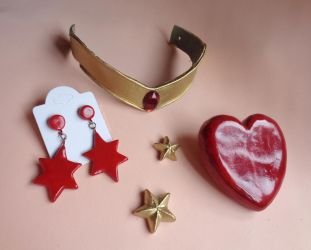 Super Sailor Mars Cosplay Accessories by bellakenobi