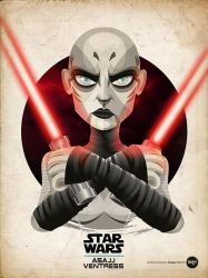 Asajj Ventress by moqui76