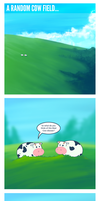 Cows... by thrones