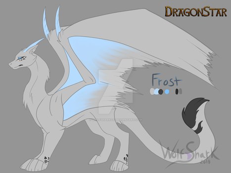 :DS: Frost reference by WolfsharkCC