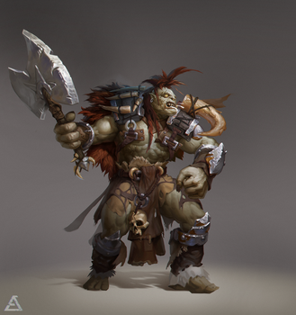 My new Orc - Ricky by popisus