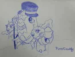 Pimp Crawdaddy [Crawdaunt and the Goldeens] by Kuribelle