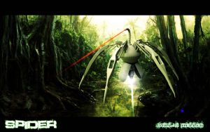 Cyber Spider by Artificialproduction