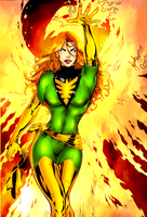 Jean Grey by maddelirium