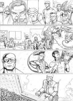 X-Men First Class Issue #8 pg. 6 by LipGlossary