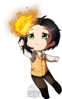 (RP) Chibi Hubert by Poi-Frontier