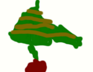 Decorated Christmas Tree by Pantologist