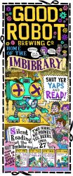 Silent Reading at the Imbibrary by goodbunny2000