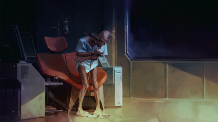 Oldmanspace by Nonparanoid