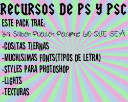 Recursos Photoshop y Photoscape by PaoBelieberBabe