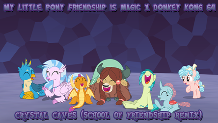 Crystal Caves (School of Friendship Remix) by DashieMLPFiM