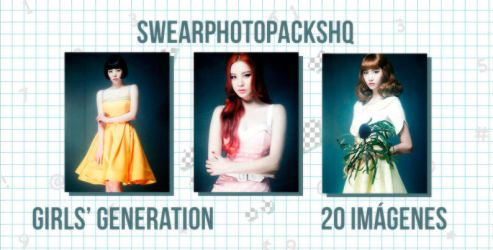Photopack 334: Girls Generation by SwearPhotopacksHQ
