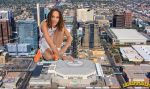 Giantess Brittney Griner debut by lowerrider