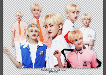 NCT [ MARK LEE ] Render Pack #3 by Arisa12393