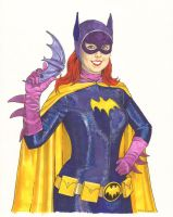 Batgirl Cosplay Commission by TessFowler