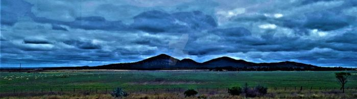 You Yangs in colour by pkewphotography