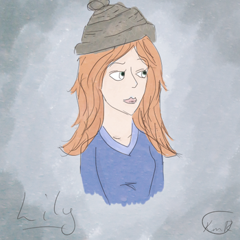 Lily Evans by Katherine-Robertson