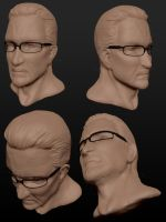 Leonard Church Speed Sculpt/Study by DarkEcoKat