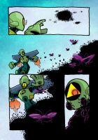 Hypergirl 2 Page 3 Colours by IanDSharman