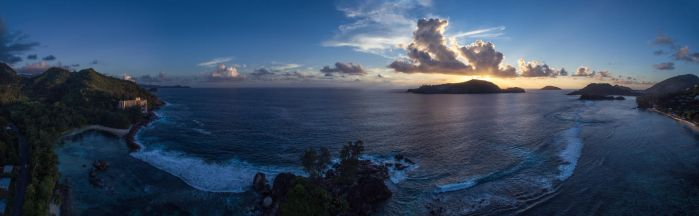 Sunset Seychelles by fly10