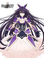 Tohka Yatogami - DATE A LIVE Render by Satriobp