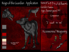 Asmerith- the wicked one- RotG Application by Alikrea